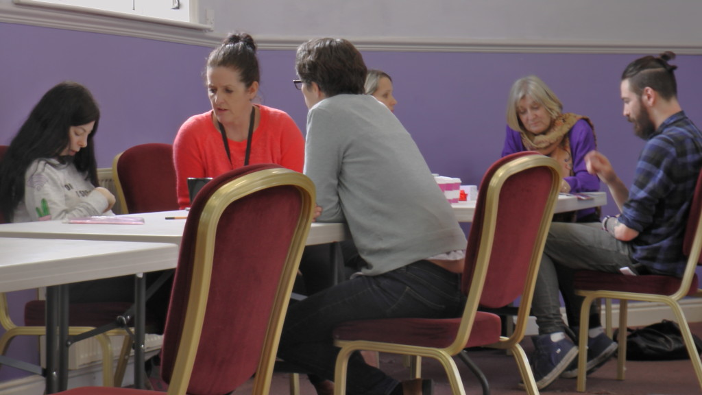 Customers meet with partner agencies, such as the Leaving Care Team