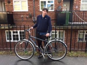 D.H bicycle gift 28-04-2017RMal
