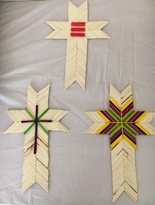 Matchstick crosses