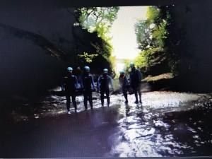 gorge walking 2